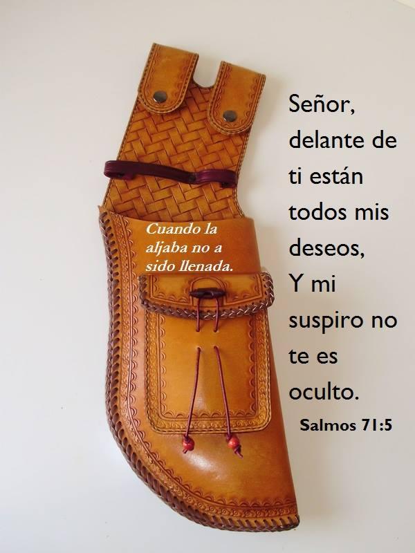 Herencia de Jehová son los hijos...¡Bienaventurado el hombre que llenó su aljaba de ellos! Salmos 127:3,5
