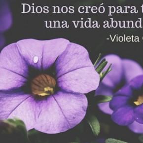 Mujeres que inspiran: Violeta Guerra