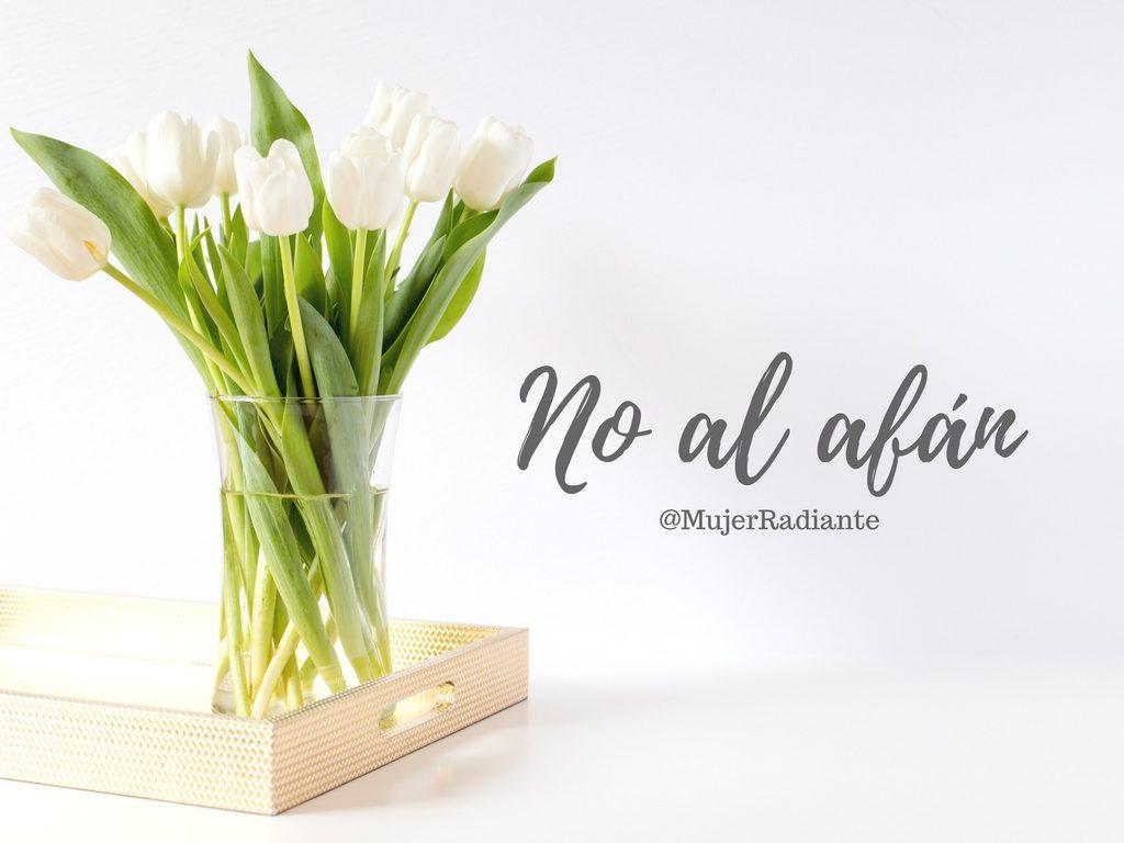 No al afán (1)